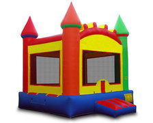 Multi Color Bounce House 13x13